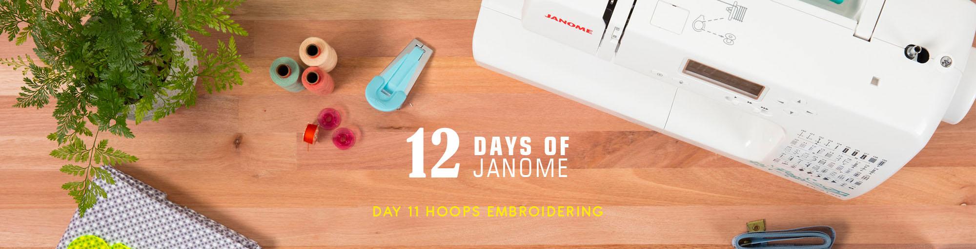 12 Days of Janome Christmas
