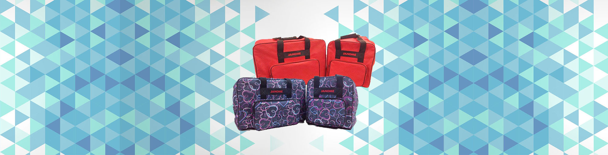 Janome sewing machine carry bags